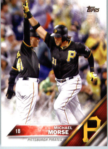 Photo of 2016 Topps #384 Michael Morse