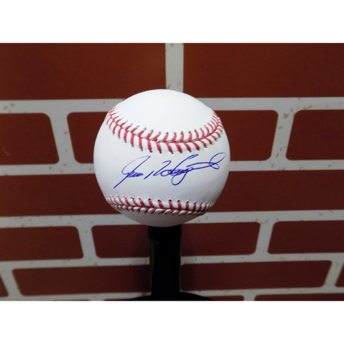 Photo of Pudge Rodriguez Autographed Baseball