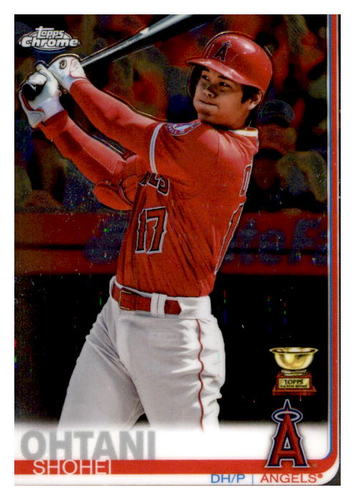 Photo of 2019 Topps Chrome #1 Shohei Ohtani