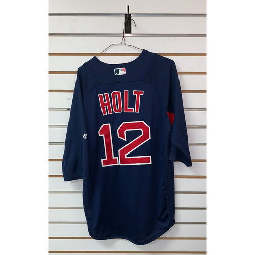 Brock Holt Team Issued Road Batting Practice Jersey