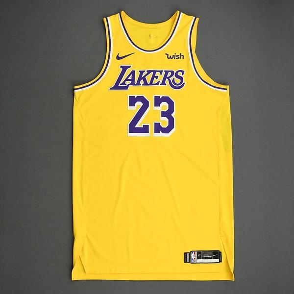 LeBron James - Los Angeles Lakers - Kia NBA Tip-Off 2019 - Game ...