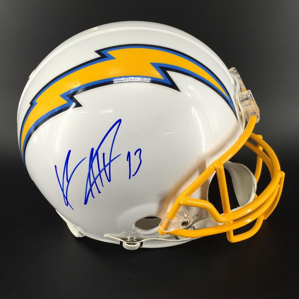 Chargers - Keenan Allen Signed Authentic Proline Helmet