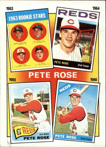 Photo of 1986 Topps #2 Rose Special: '63-'66