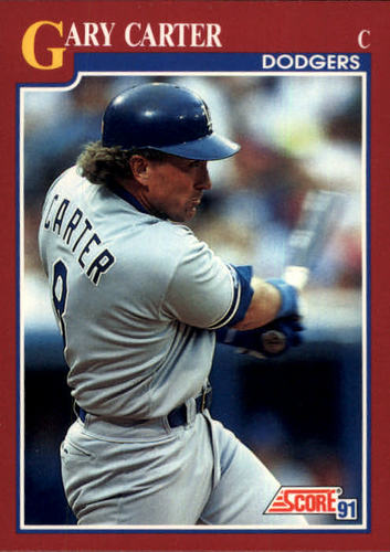 Photo of 1991 Score Rookie/Traded #26T Gary Carter