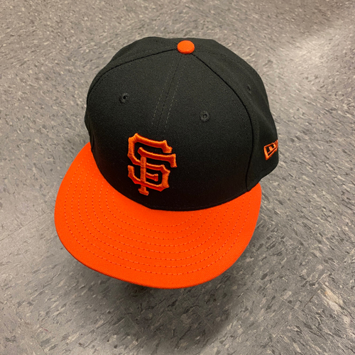 Photo of 2019 Team Issued Orange Bill Cap - #2 Abiatal Avelino - Size 7 1/4