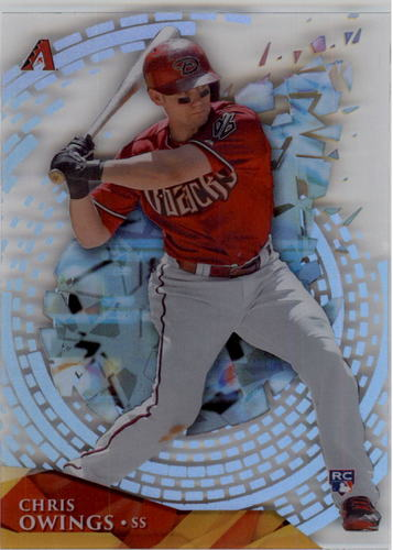 Photo of 2014 Topps High Tek Spiral Bricks #HTCO Chris Owings RC