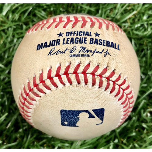 Photo of Game Used Baseball: Willy Adames foul ball off Will Harris - September 16, 2020 v WSH
