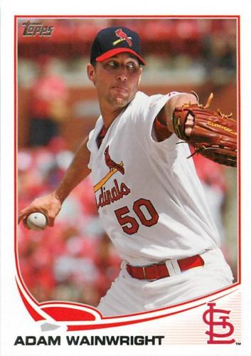 Photo of 2013 Topps #50 Adam Wainwright