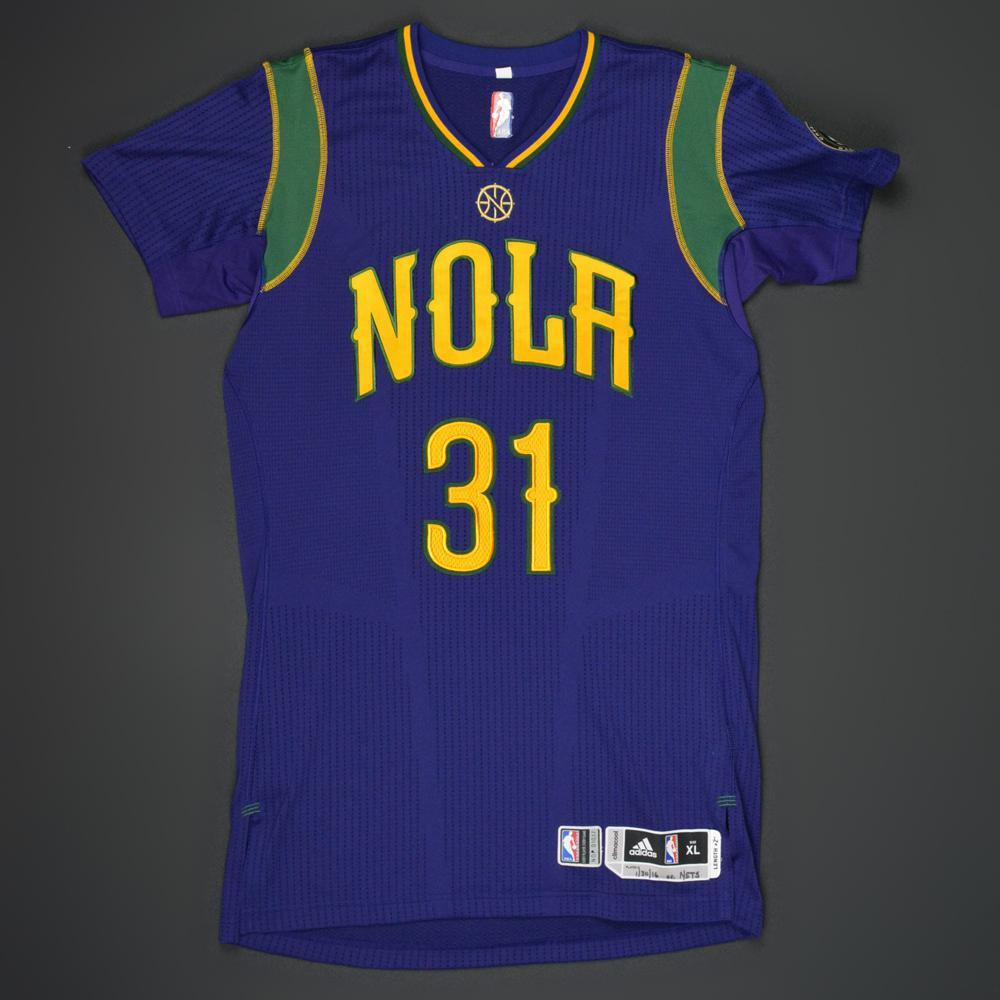 Bryce Dejean Jones New Orleans Pelicans Game Worn