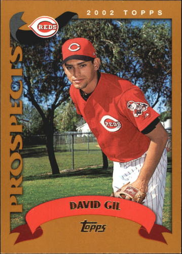 Photo of 2002 Topps Traded #T173 David Gil RC