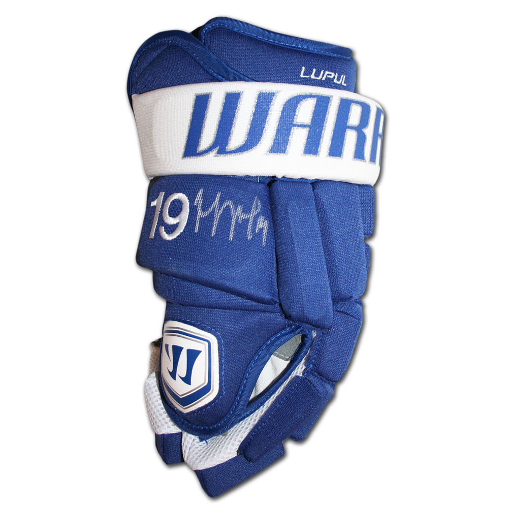 Joffrey Lupul Autographed Game-Model Warrior Hockey Glove (Toronto Maple Leafs)