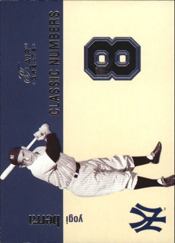 Photo of 2003 Flair Greats Classic Numbers #7 Yogi Berra