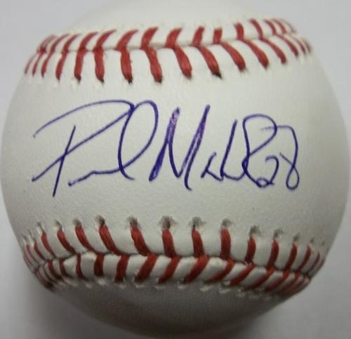 Paul Maholm Autographed Baseball