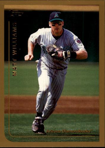 Photo of 1999 Topps #120 Matt Williams