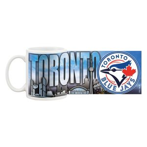 Toronto Blue Jays Cityscape Coffee Mug by Mustang