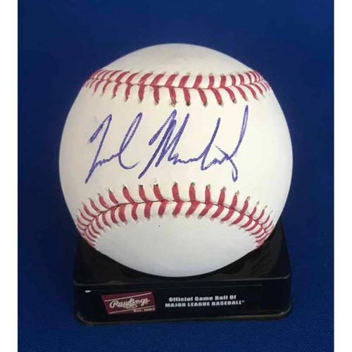 Photo of UMPS CARE AUCTION: Nick Markakis Signed Baseball - Not MLB Authenticated