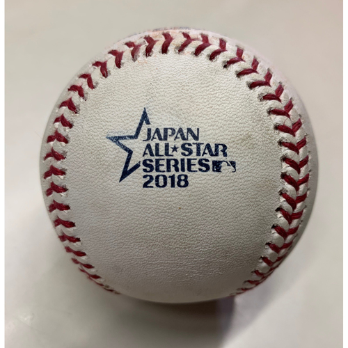 Photo of 2018 Japan All-Star Series - Batter: Sosuke Genda, Pitcher: Erasmo Ramirez - Top of 1st, Double - 11/10/18