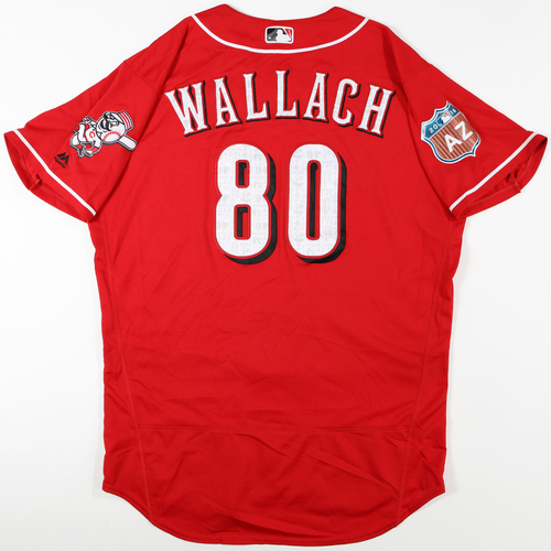 Photo of 2016  Spring Training -  Spring Training Used Jersey - Chad Wallach (Reds) - Size 48