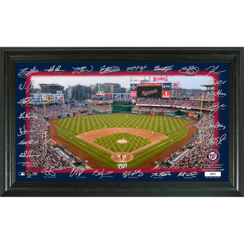Photo of Washington Nationals Signature Field Photo Frame