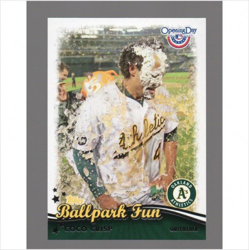 Photo of 2013 Topps Opening Day Ballpark Fun #BF25 Coco Crisp