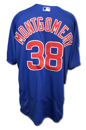 Photo of Mike Montgomery Team-Issued Jersey -- Size 50 -- Spring Training 2019