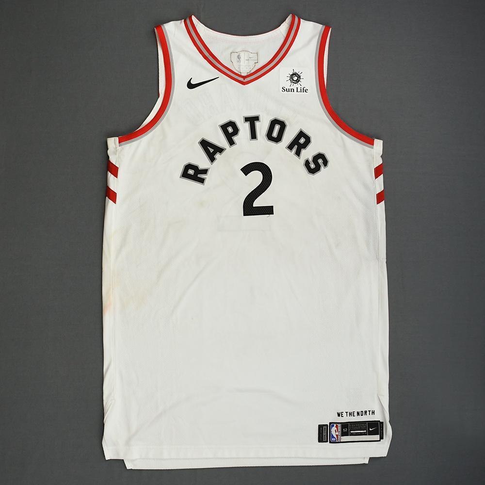 new concept 827ba 48cea Kawhi Leonard - Toronto Raptors - 2019 NBA Finals - Game 1 ...