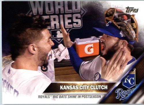 Photo of 2016 Topps #387 Kansas City Clutch