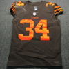 Crucial Catch - Browns Carlos Hyde Game Used Jersey Game Date 10.7.18 Size 42