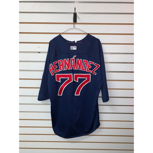 Photo of Oscar Hernandez Team Issued Road Batting practice Jersey