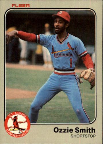 Photo of 1983 Fleer #22 Ozzie Smith