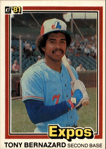 Photo of 1981 Donruss #449 Tony Bernazard