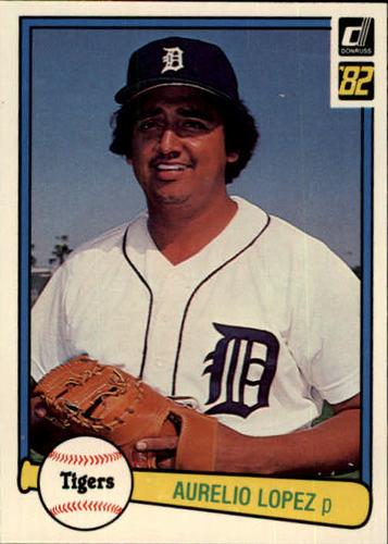Photo of 1982 Donruss #359 Aurelio Lopez