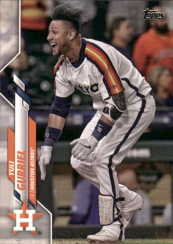 Photo of 2020 Topps #289 Yuli Gurriel