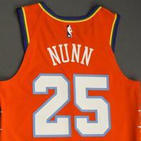 Kendrick Nunn - 2020 NBA Rising Stars - Team USA - Game-Worn 1st Half Jersey