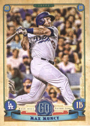 Photo of 2019 Topps Gypsy Queen #74 Max Muncy