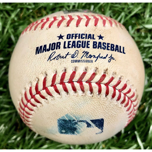 Game Used Baseball: Kevin Kiermaier foul ball off Connor Brogdon - September 26, 2020 v PHI