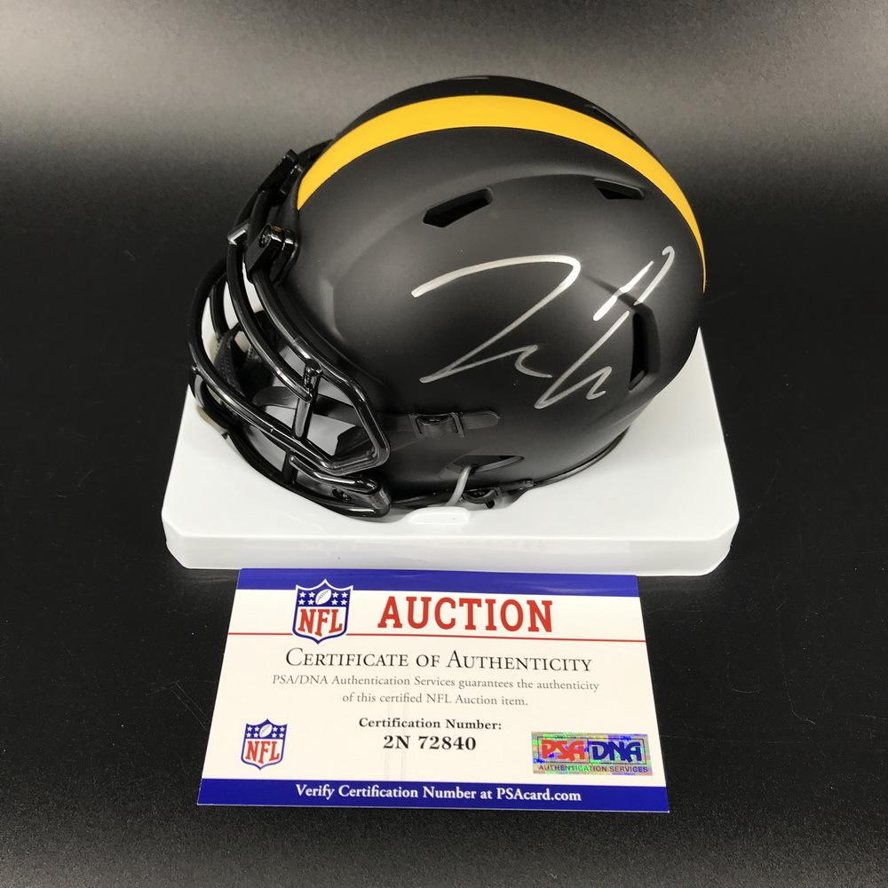 NFL - Steelers Pat Freiermuth Signed Eclipse Mini Helemets