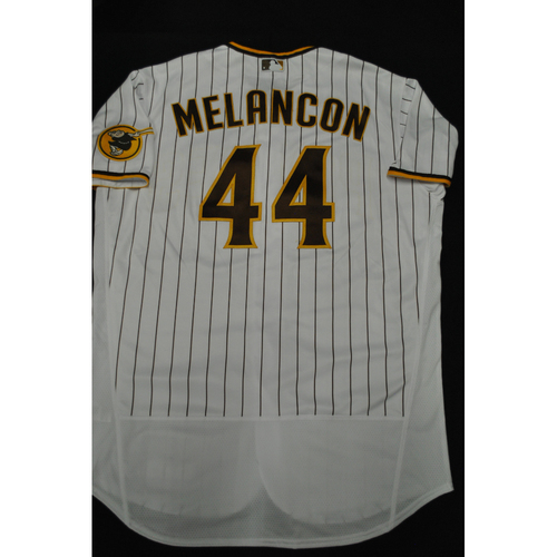 Photo of Hank Aaron Chasing the Dream Foundation: Mark Melancon 2021 MLB All-Star Workout Day BP-Worn # 44 Jersey
