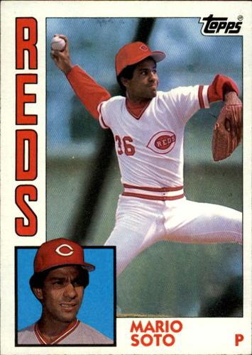 Photo of 1984 Topps #160 Mario Soto
