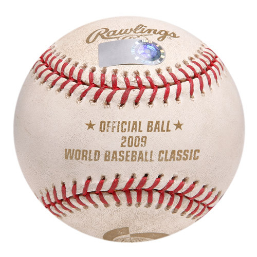 2009 World Baseball Classic: Round 2 - Netherlands vs United States - Batter: Kenley Jansen, Pitcher: Roy Oswalt, Top of 5th, Fouled Back to Screen