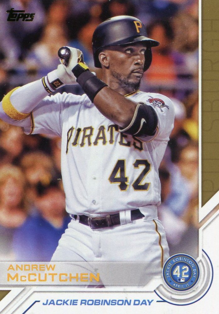 2017 Topps Jackie Robinson Day #JRD23 Andrew McCutchen