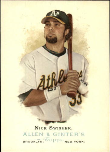 Photo of 2006 Topps Allen and Ginter #6 Nick Swisher
