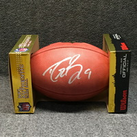 PCC - SAINTS DREW BREES SIGNED AUTHENTIC FOOTBALL