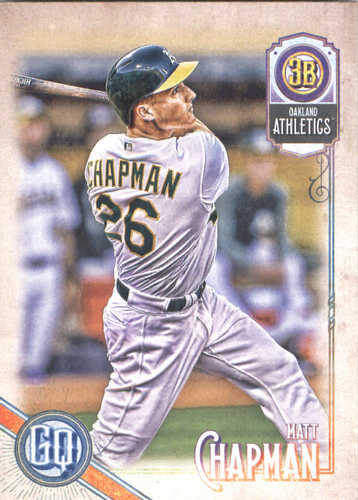 Photo of 2018 Topps Gypsy Queen #128 Matt Chapman