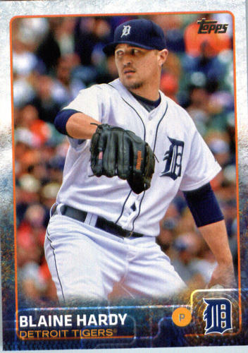 Photo of 2015 Topps Update #US246 Blaine Hardy RC