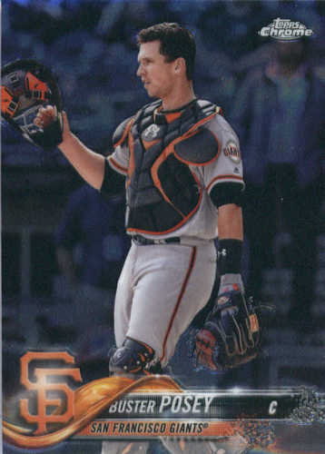 Photo of 2018 Topps Chrome #29 Buster Posey