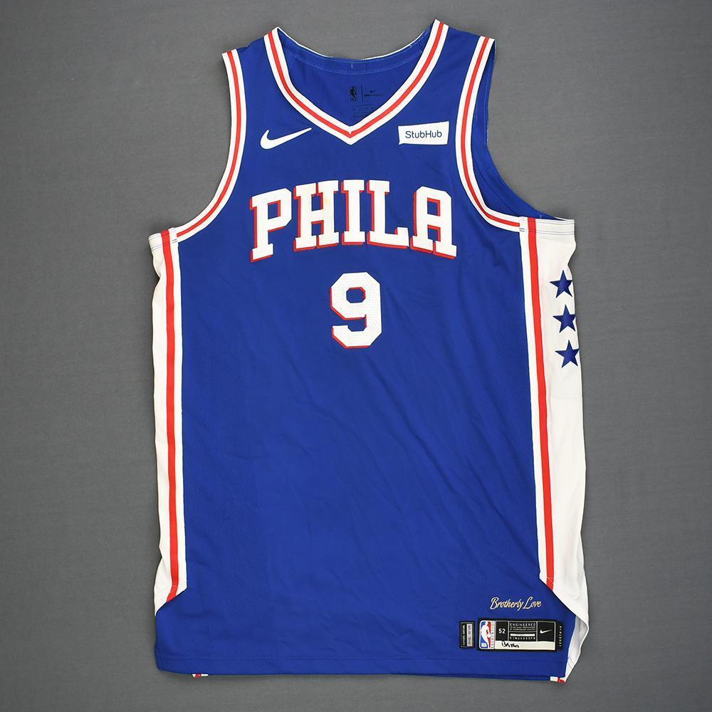 wholesale dealer 54422 62b36 Dario Saric - Philadelphia 76ers - Kia NBA Tip-Off 2018 ...