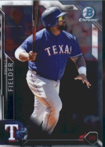 Photo of 2016 Bowman Chrome Vending '16 Bowman #87 Prince Fielder