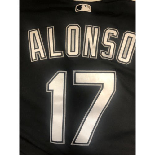 Yonder Alonso Team-Issued 2019 Spring Training Jersey (not authenticated)