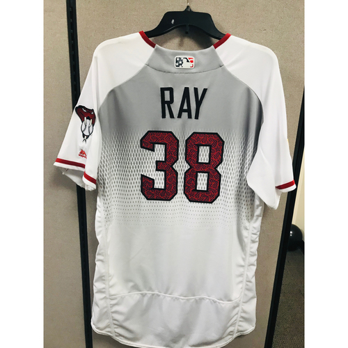 2016 4th of July Game-Used Robbie Ray Jersey